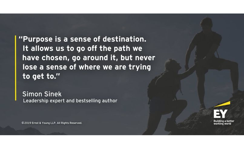 Simon Sinek considers why uncertain times require certainty of purpose
