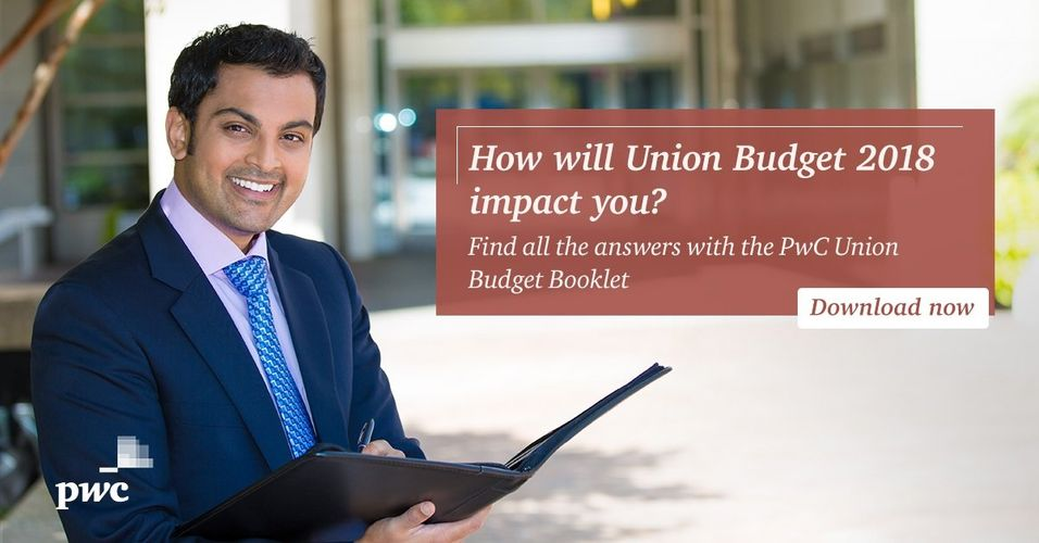 PwC Union Budget 2018 Booklet